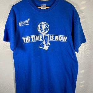 NBA Dallas Mavericks The Time Is Now Stained Tee